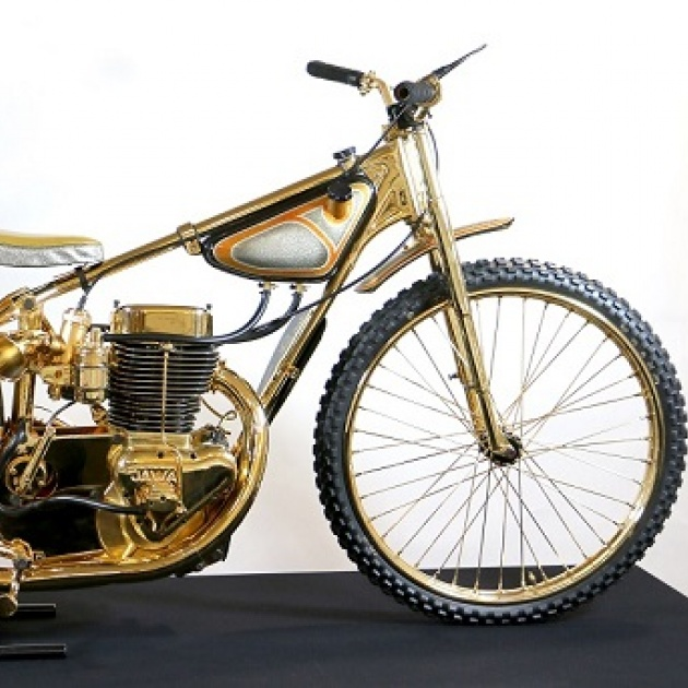 Triple Crown Special Bike and Winged Wheel