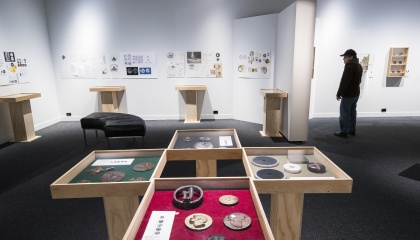 See our medal art exhibition on Level 3