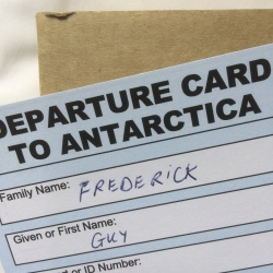Postcards to Antarctica
