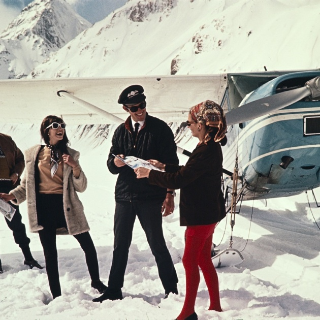 Advertising image for Mount Cook Airlines