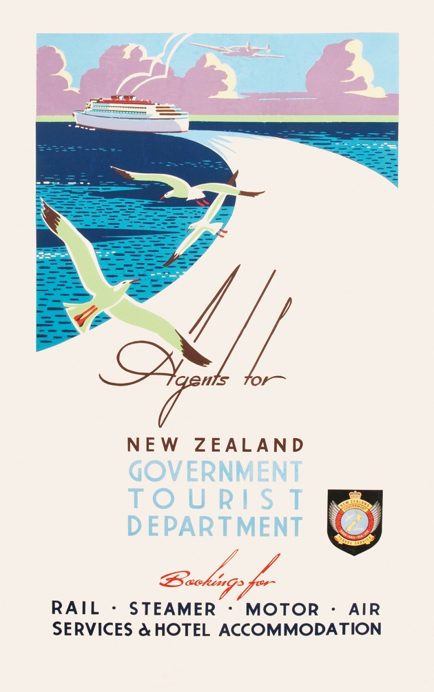 Agents for New Zealand Government Tourist Department