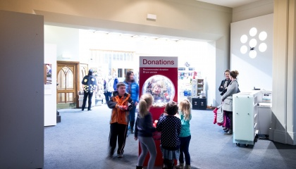 Donations and sponsorship help us deliver our amazing exhibitions and programmes