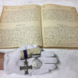 Museum Acquires Scott's Skiing Expert's Medals and Diaries