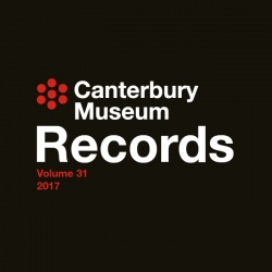 Records of the Canterbury Museum Volume 31 2017